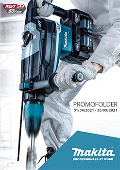 Promofolder Makita 2021